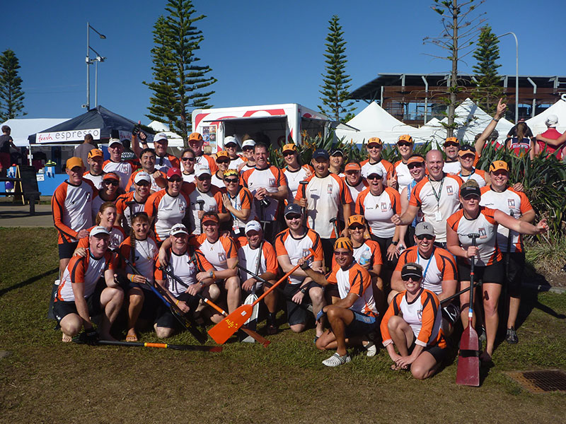 Pacific Dragons at the 2014 National Dragon Boat Championships