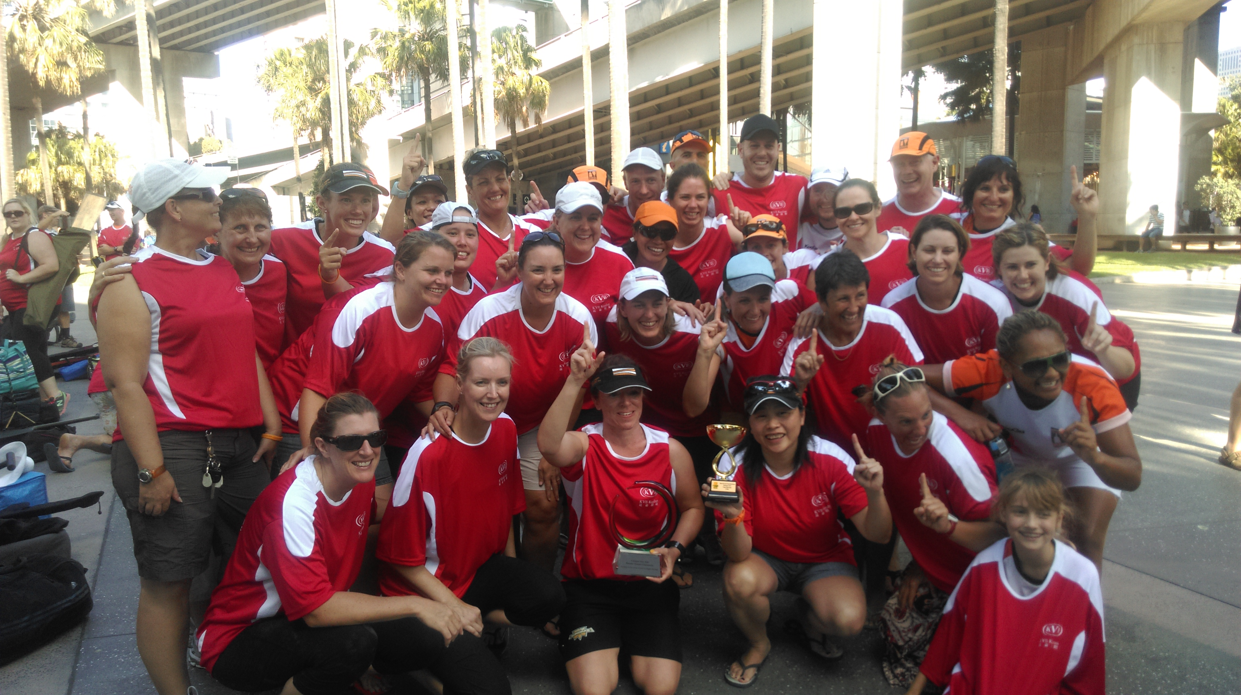 PDs Premier Women's crews winning for the 9th year in a row!
