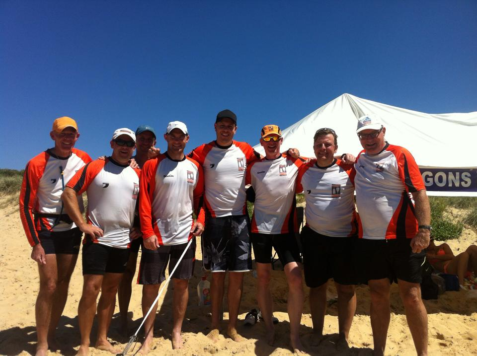 Pacific Dragons Opens Crew at the 2015 Pasha Dash 33km changes race, Newcastle